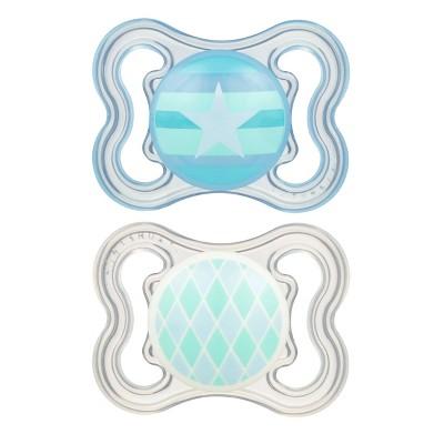 MAM Mini Air Pacifier 0-6 Months - 2ct Blue