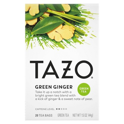 Tazo Green Ginger Tea - 20ct