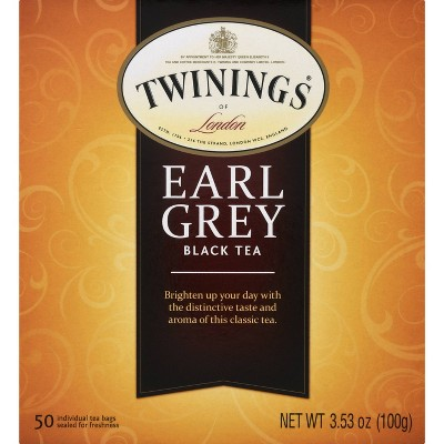 Twinings Classic Earl Gray Tea - 50ct