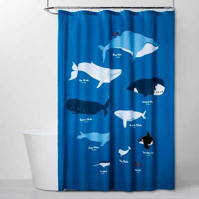 Whales Shower Curtain - Pillowfort™