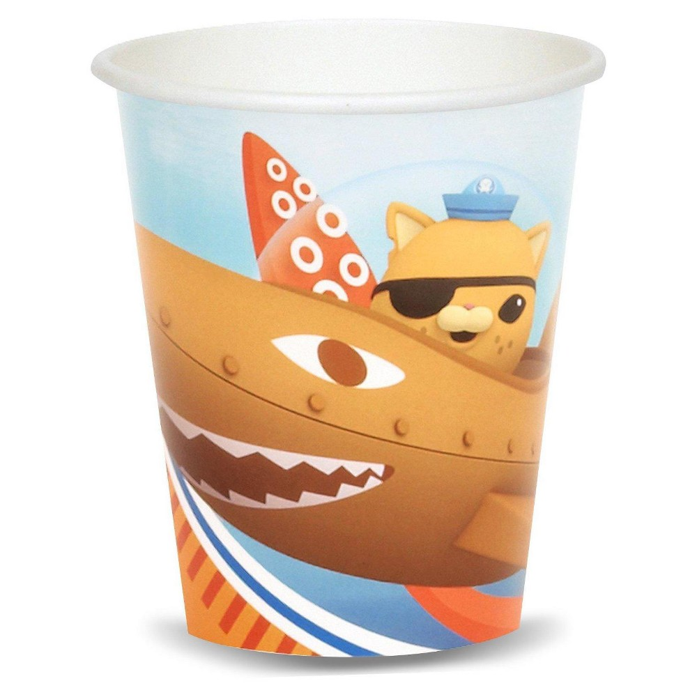 16ct Octonauts - 9oz Cup, Multicolored