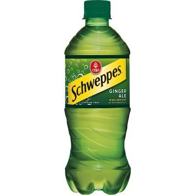 Schweppes Ginger Ale - 20 fl oz Bottle