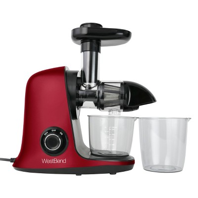 West Bend Cold Press Juice Extractor - Red