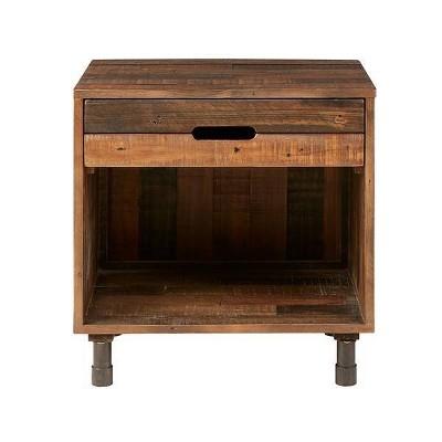 Renu Solid Wood Nightstand