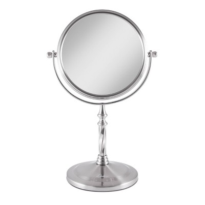 Zadro Two-Sided Swivel Vanity Mirror - 1X & 5X Magnification