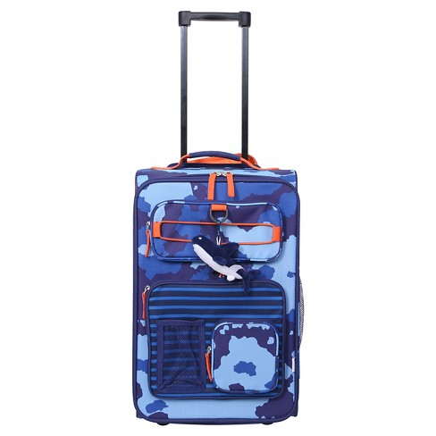 "Crckt 18"" Kids Carry On Suitcase - Blue Camo - image 1 of 8"