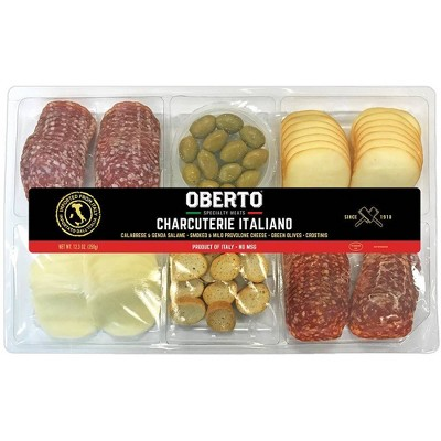 Oberto Charcuterie Platter with Olives - 12.3oz
