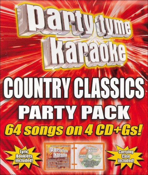 Party tyme karaoke - Country classics party pack (CD) - image 1 of 1
