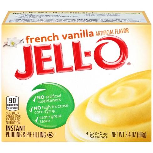 Jello-O French Vanilla Instant Pudding & Pie Filling - 3.4oz - image 1 of 3