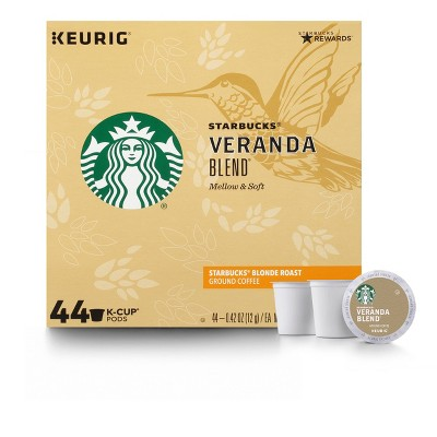 Starbucks Veranda Medium Roast Coffee - Keurig K-Cup Pods - 44ct