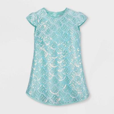 Girls' Disney Ariel Fancy Dress - Blue - Disney Store