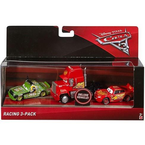 Disney Pixar Cars Cars 3 Mack Lightning Mcqueen And Chick Hicks