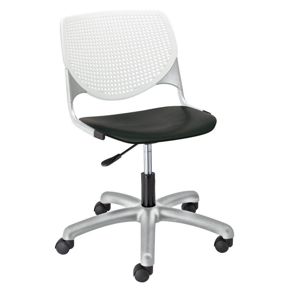 Image of Kool Poly Task Chair Black - KFI Seating