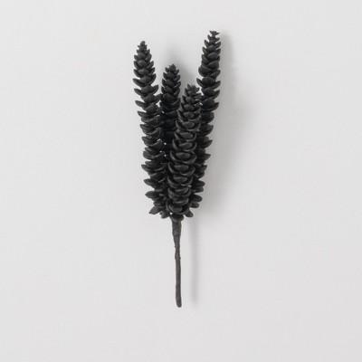 """Sullivans Artificial Succulent Pick 10""""H Black"""
