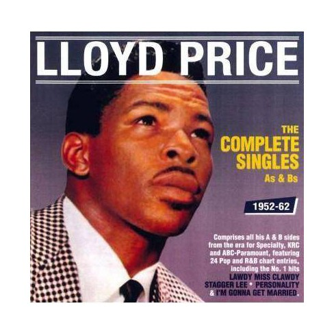 Lloyd Price - Complete Singles As & Bs: 1952-1962 (CD) - image 1 of 1
