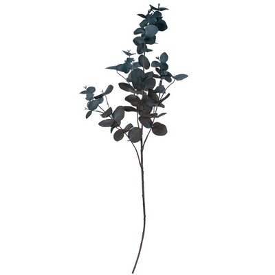 "Northlight 37"" Artificial Blue Eucalyptus Christmas Spray"
