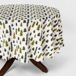Trees Print Tablecloth - Threshold™
