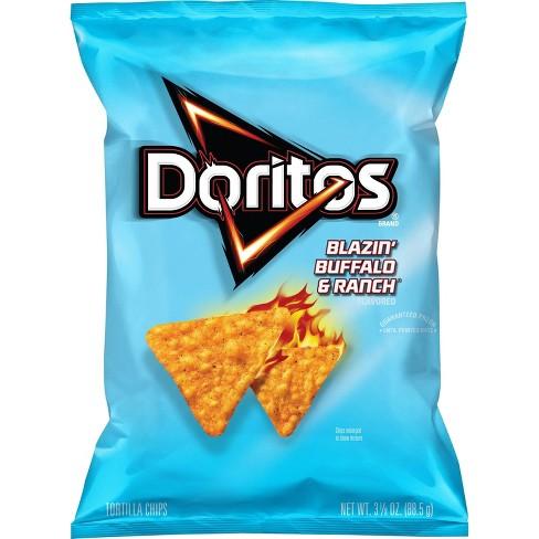 Doritos Blazin Buffalo & Ranch Tortilla Chips - 3.125oz - image 1 of 2