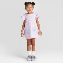 Toddler Girls' Bunny Pocket Dress - Cat & Jack™ Purple