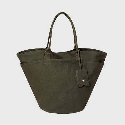 Tie Closure Tote Handbag - A New Day™