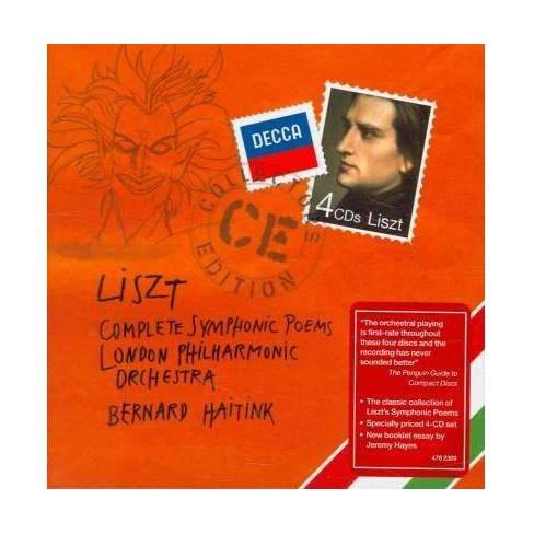 Bernard  Franz; Haitink Liszt - Liszt: Complete Symphonic Poems (CD) - image 1 of 1