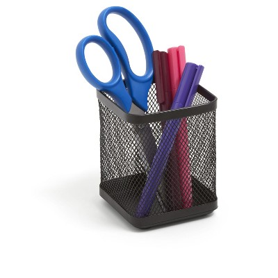 TRU RED Stackable Wire Mesh Regular Pencil Holder TR57575-CC