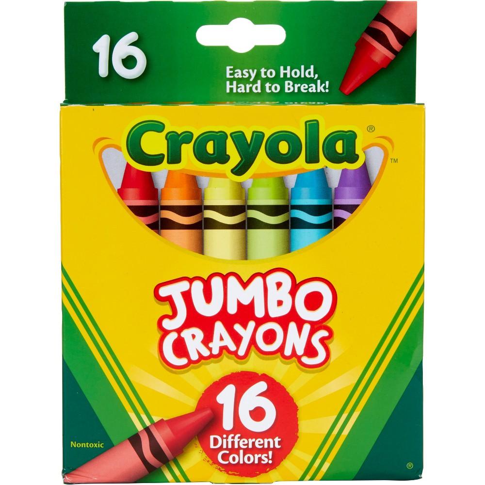 Image of 16ct Crayola Jumbo Crayons