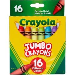 Crayola 16ct Jumbo Crayons