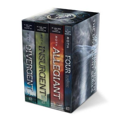 Divergent Series Four-Book Paperback Box Set by Veronica Roth