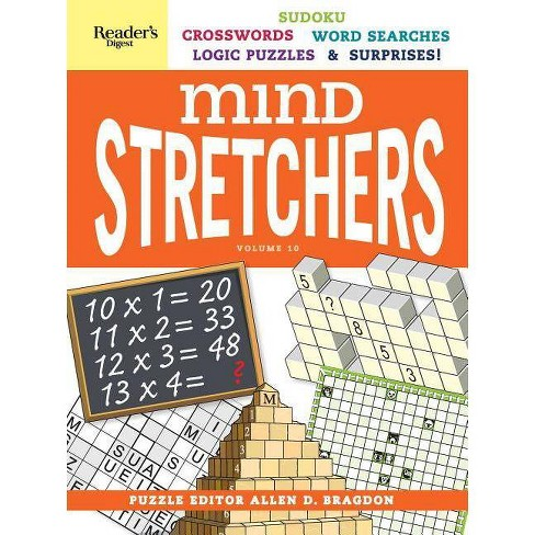 Reader's Digest Mind Stretchers Vol. 10 - (Spiral_bound) - image 1 of 1