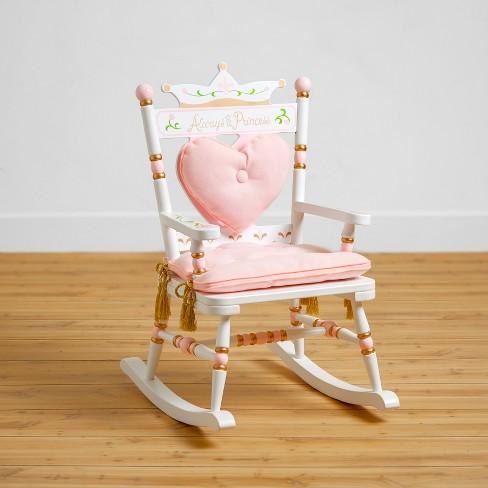 Royal Princess Rocking Chair White - Wildkin - image 1 of 3