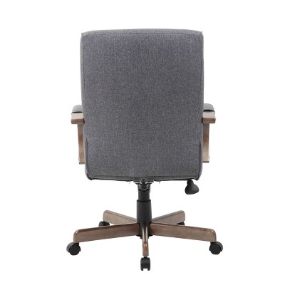 Modern Executive Conference Chair Gray - Boss : Target