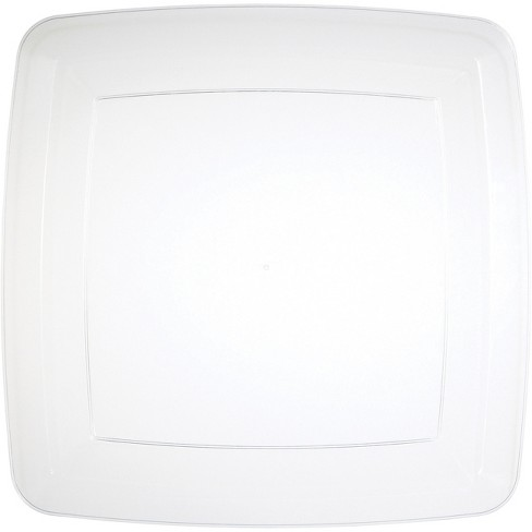 24ct Clear Banquet Plates Clear - image 1 of 3