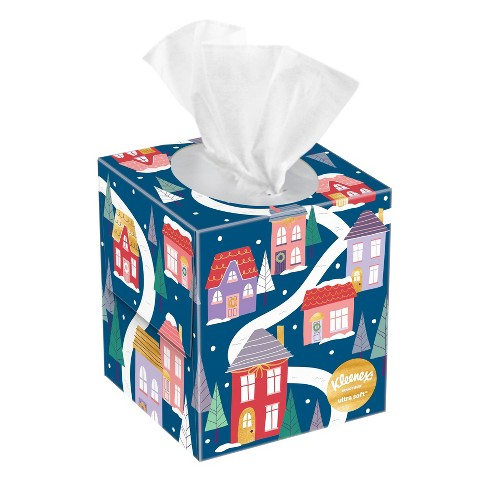 Kleenex Holiday Upright Ultra Soft Facial Tissue - 55ct - image 1 of 4