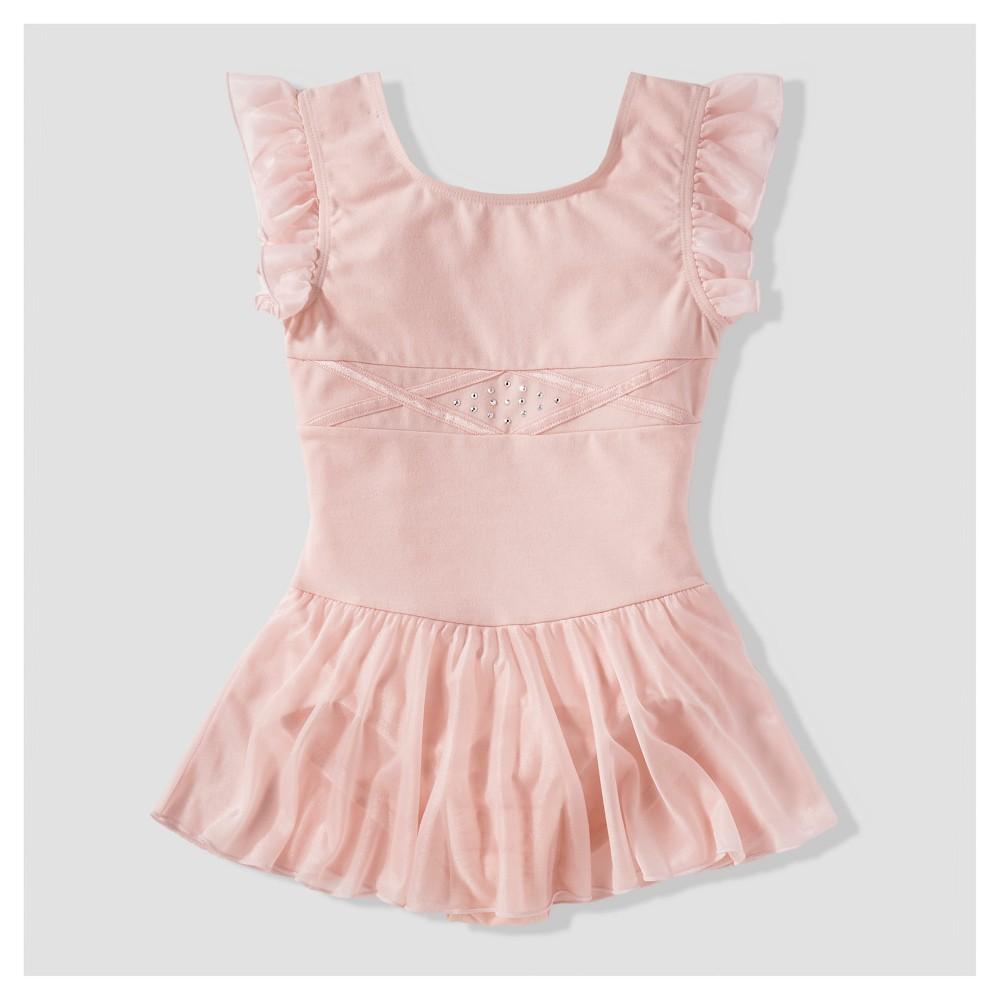 Girls' Freestyle by Danskin Active Wear Dress - Pink XS