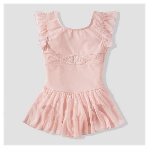 2405f87c2717 Girls  Freestyle By Danskin Active Wear Dress - Pin   Target