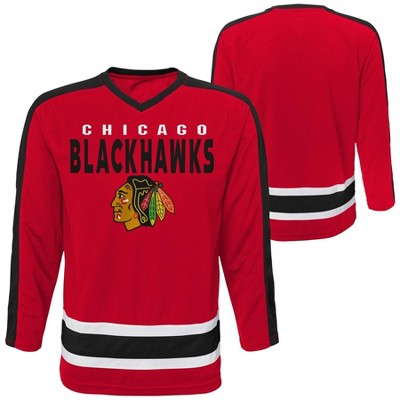 NHL Chicago Blackhawks Boys' Jersey - L