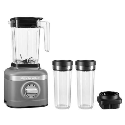 KitchenAid 3-Speed Blender with 2 Personal Blender Jars - Dark Gray