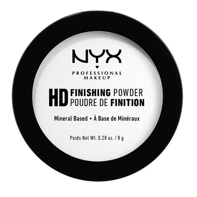 NYX Professional Makeup HD Finishing Pressed Powder - 0.28oz