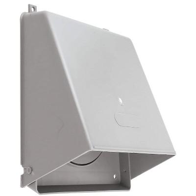 """Lambro Industries Lambro 6"""" Plastic Wall Cap Damper Gray LAM351G"""