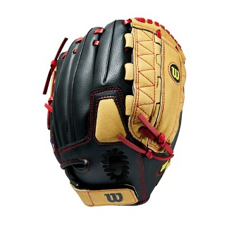 "Wilson A350 11.5"" Baseball Glove - Black/Tan"