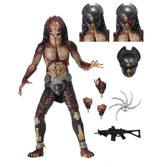 "The Predator (2018) Ultimate Lab Escape Fugitive Predator 7"" Action Figure image number null"