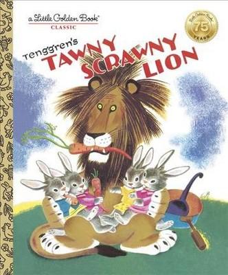 Tawny Scrawny Lion (Hardcover)(Kathryn Jackson)
