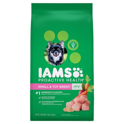 Iams Proactive Health Adult Small Toy Breed Dry Target