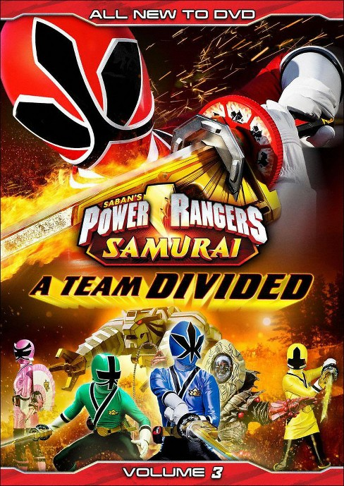 Power Rangers Samurai, Vol. 3: A Team Divided - image 1 of 1
