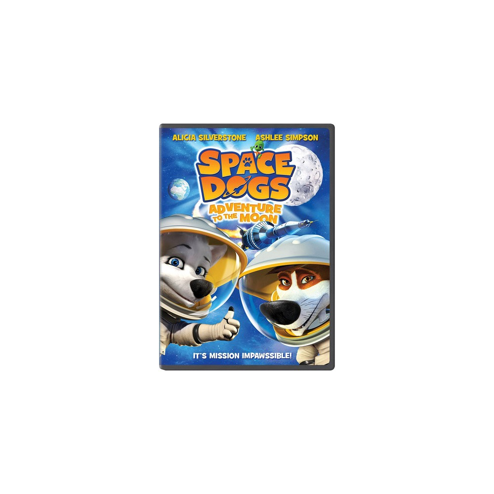Space Dogs:Adventure To The Moon (Dvd)
