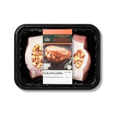 Bacon Cheddar Stuffed Pork Chops - 1.24lbs - Archer Farms™