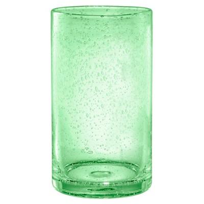 Artland Iris 17oz 4pk Highball Glasses Light Green