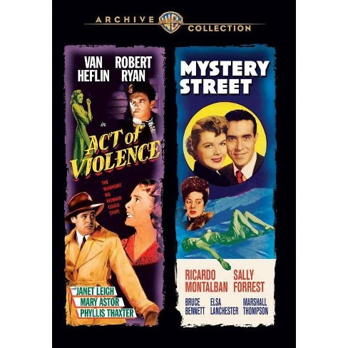 Act Of Violence / Mystery Street (DVD) - image 1 of 1