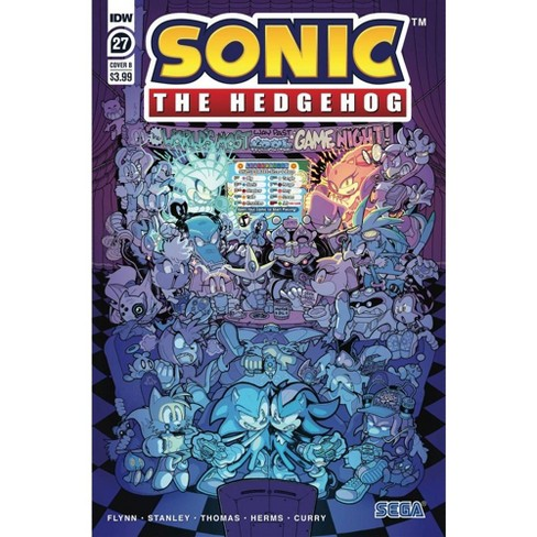 Idw Sonic The Hedgehog 27 Comic Book Cover B Variant Target